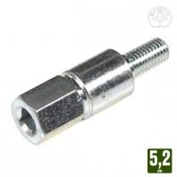 Adaptateur pour renvoi d'angle carré 5,2 mm