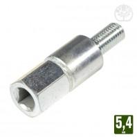 Adaptateur pour renvoi d'angle carré 5,4 mm