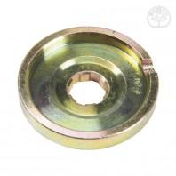 Flasque d'appui supérieur 6 cannelures pour renvoi d'angle