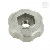 Ecrou de serrage. Pour tête à 2 & 3 fils nylon. Aluminium