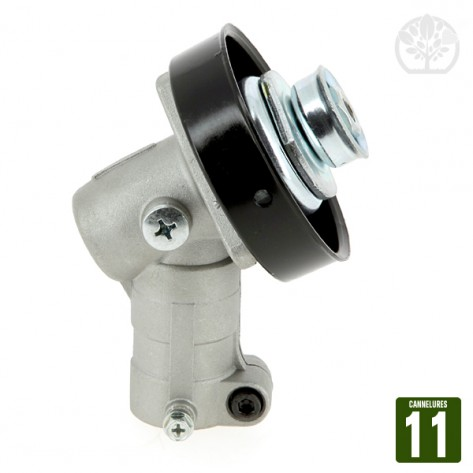 Renvoi d'angle entrainement. 11 cannelures. Pour tube Ø 28 mm