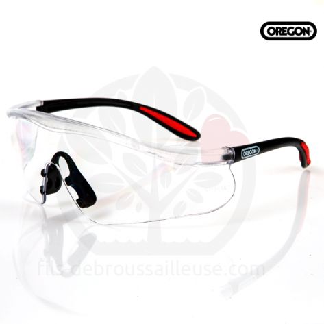 Lunettes Oregon de protection en Polycarbonate. Transparente