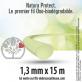 5 fils oxo-biodégradable rond Natura Protect beige/vert 1,3 mm x 15 m. Coque