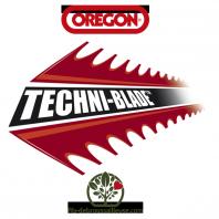 Fil débroussailleuse Orégon Techni blade Rouge 40 brins 7mm x 26cm. Tube