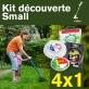 Kit découverte SMALL. Lot de 4 fils débroussailleuse