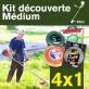 Kit découverte MEDIUM. Lot de 4 fils débroussailleuse