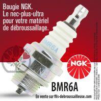 Bougie NGK BMR6A pour la motoculture