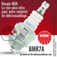 Bougie NGK BMR7A pour la motoculture