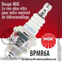 Bougie NGK BPMR6A pour la motoculture