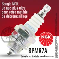 Bougie NGK BPMR7A pour la motoculture