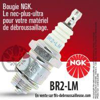 Bougie NGK BR2LM pour la motoculture