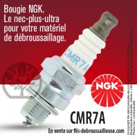 Bougie NGK CMR7A pour la motoculture