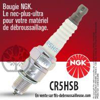 Bougie NGK CR5HSB pour la motoculture