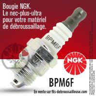 Bougie NGK BPM6F pour la motoculture
