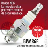 Bougie NGK BPMR6F pour la motoculture