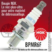 Bougie NGK CMR7H pour la motoculture