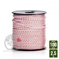 Corde de lanceur nylon 16 fuseaux. 2,5x100m