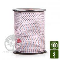 Corde de lanceur nylon 16 fuseaux. 3,5x100m