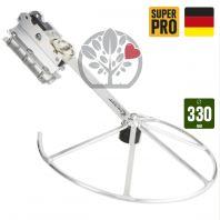 Entretoise Ergo-Schnitt 330 mm. Repliable pour débroussailleuse.