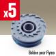 5 bobines pour Flymo
