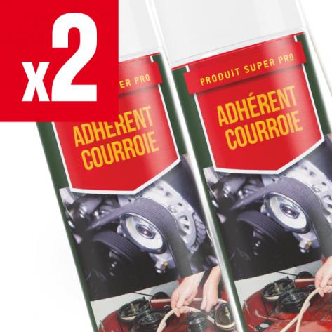 Adhérent courroies de tondeuse 2 x Shark Oil. 400 ml