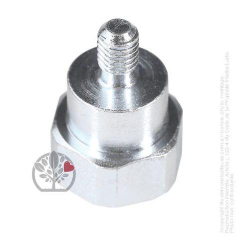 Adaptateur tête débroussailleuse M8 x 1,25 LHM pour Tecomec