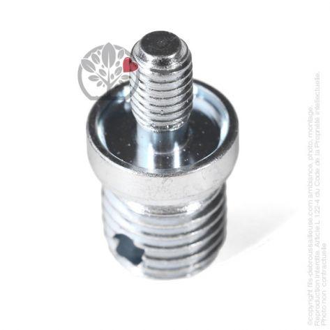 Adaptateur tête débroussailleuse M8 x 1,25 LHM pour Tecomec Easy Work Ø109, Ø130 mm