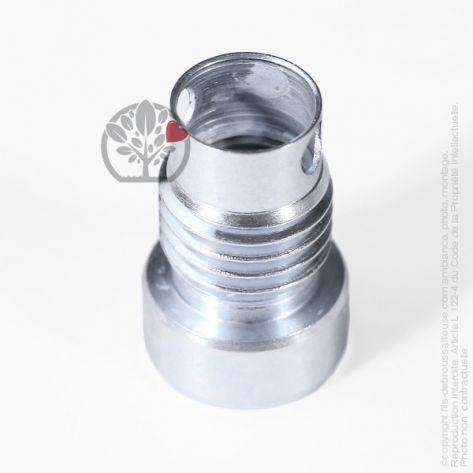 Adaptateur tête débroussailleuse M12 x 1,25 LHF pour Tecomec Easy Work Ø109, Ø130 mm