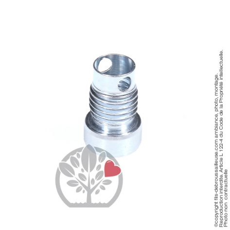 Adaptateur tête débroussailleuse M12 x 1,75 LHF pour Tecomec Easy Work Ø109, Ø130 mm
