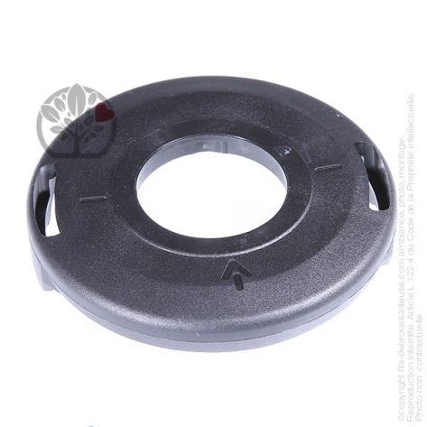 Couvercle inférieur pour tête débroussailleuse Tecomec Tap'N'Go Ø130 mm, Easy Load Ø109 mm