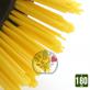 Brosse débroussailleuse universelle nylon. Tête douce en rilsan jaune