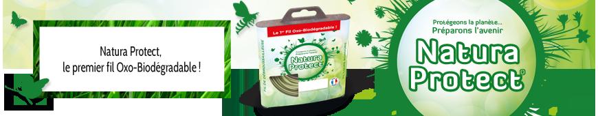 Fil Natura Protect rond débroussailleuse.