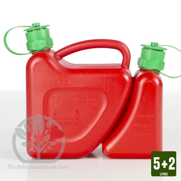 Fantastique Bidon double rouge avec bec verseur auto-stop SQ-15